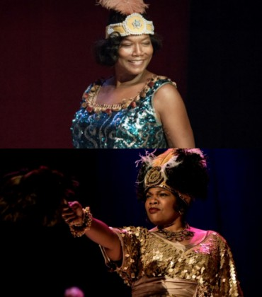 Film Review.  Queen Latifah Shines and Mo'Nique Dazzles in 'Bessie.'
