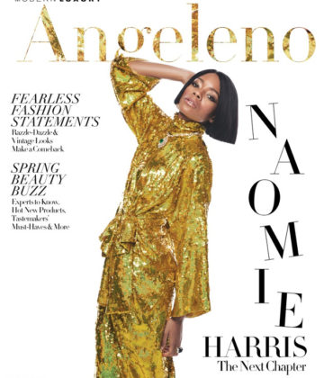 Naomie Harris Covers Modern Luxury March 2018. Images by Brian Bowen Smith.