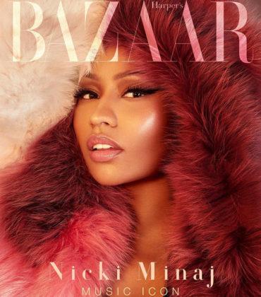 Nicki Minaj Covers Harper's Bazaar Vietnam.  Images by Greg Swales.