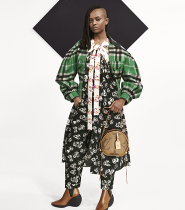 Collections. Laura Harrier. Thandie Newton. Kelela. Indya Moore. Louis Vuitton Pre-Fall 2019.