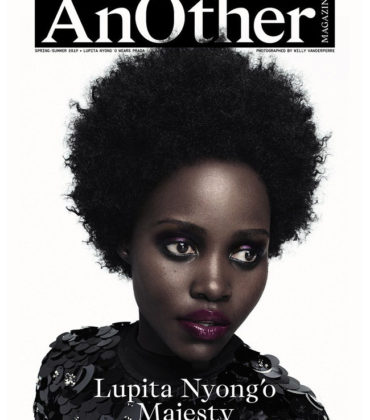 Lupita Nyong'o Covers ANOTHER Magazine Spring/Summer 2019.  Images by Willy Vanderperre.
