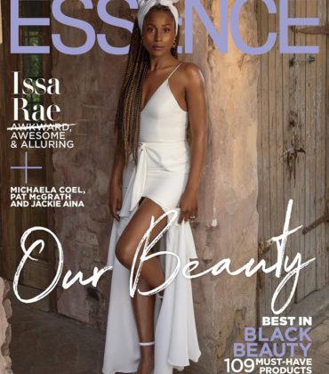 Issa Rae Covers ESSENCE April 2019.  Images by Itaysha Jordan.