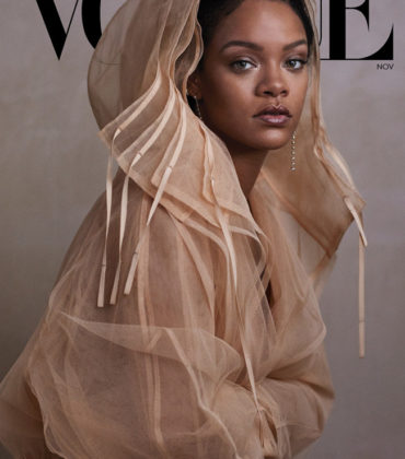 Rihanna Covers Vogue November 2019.  Images by Ethan James Green.