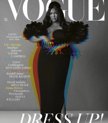 Lizzo Covers British Vogue December 2019.  Images by Alec Maxwell.
