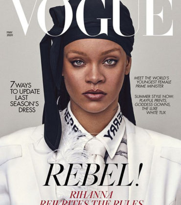 Rihanna Covers British Vogue May 2020.  Images by Steven Klein.