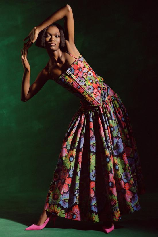 Christopher John Rogers, Black Fashion Models
